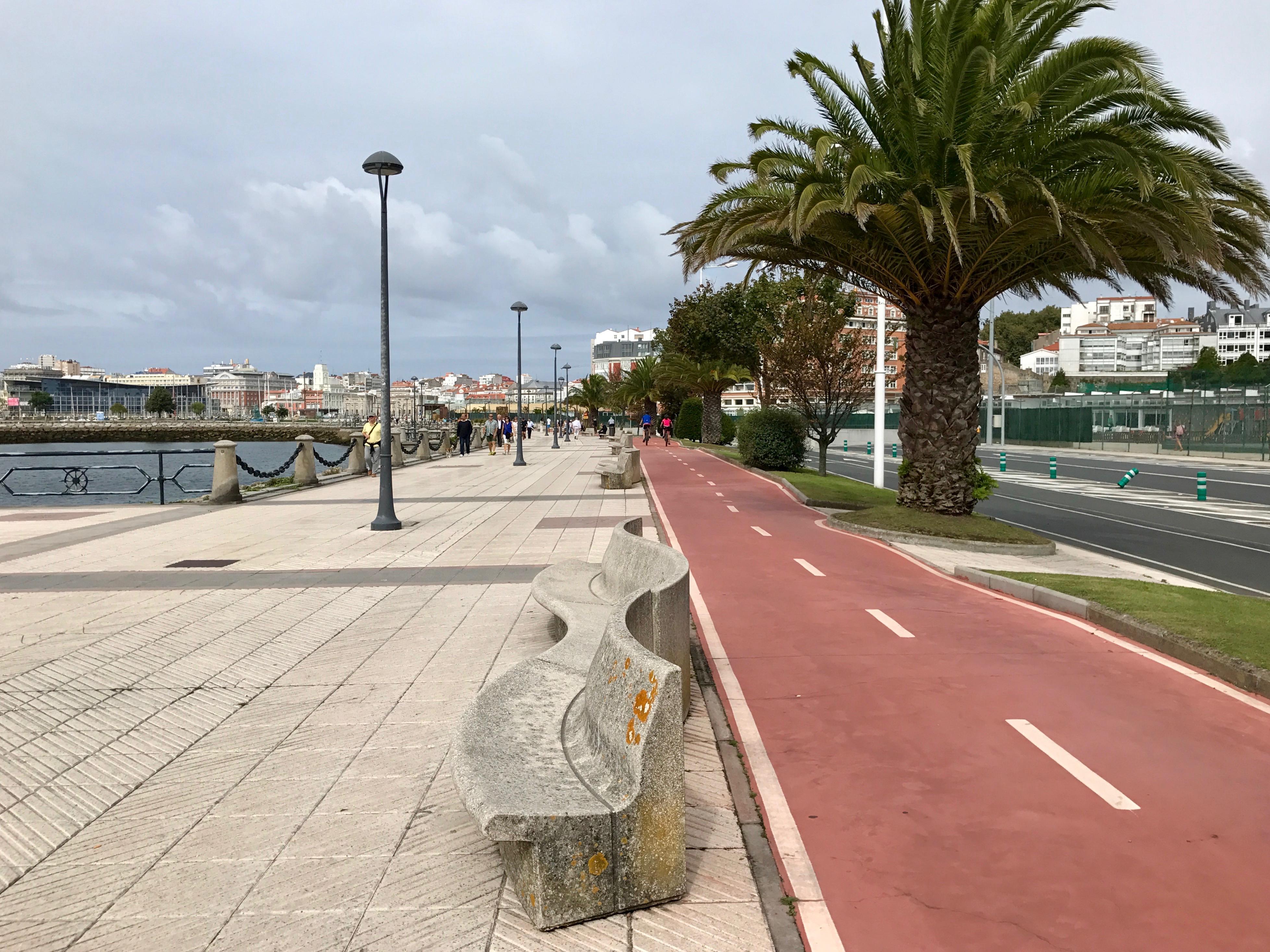 Strandpromenaden A Coruña
