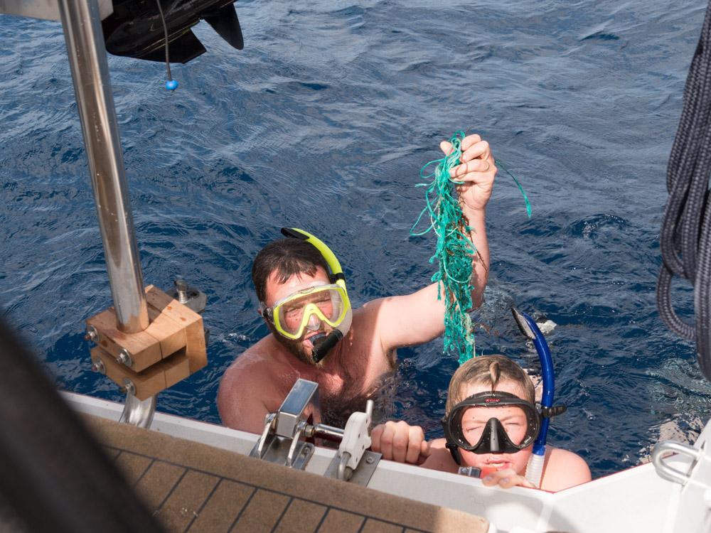 Dette har ikke noe i propellen å gjøre, eller i havet