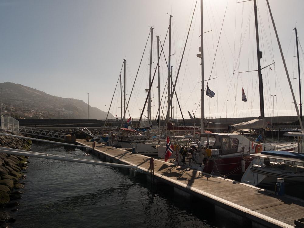 Nye gjestehavna i Funchal