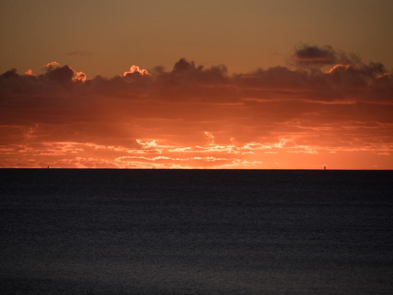 Hva betyr denne himmelen? Vil morgendagen bringe bra eller dårlig vær?