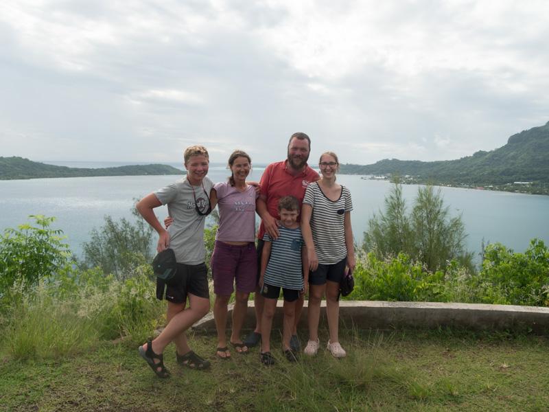Vi fikk god tid til å være turister på Bora Bora